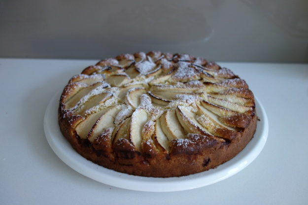 Today's Cake - Apple and Grand Marnier Cake