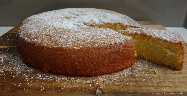 Today's cake - Orange and Olive Oil Cake