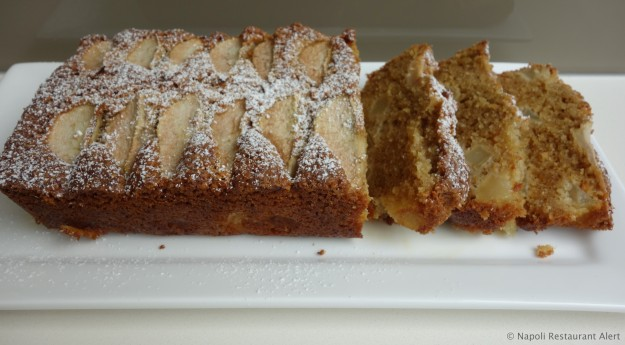 Today's cake - Pear and Hazelnut Cake