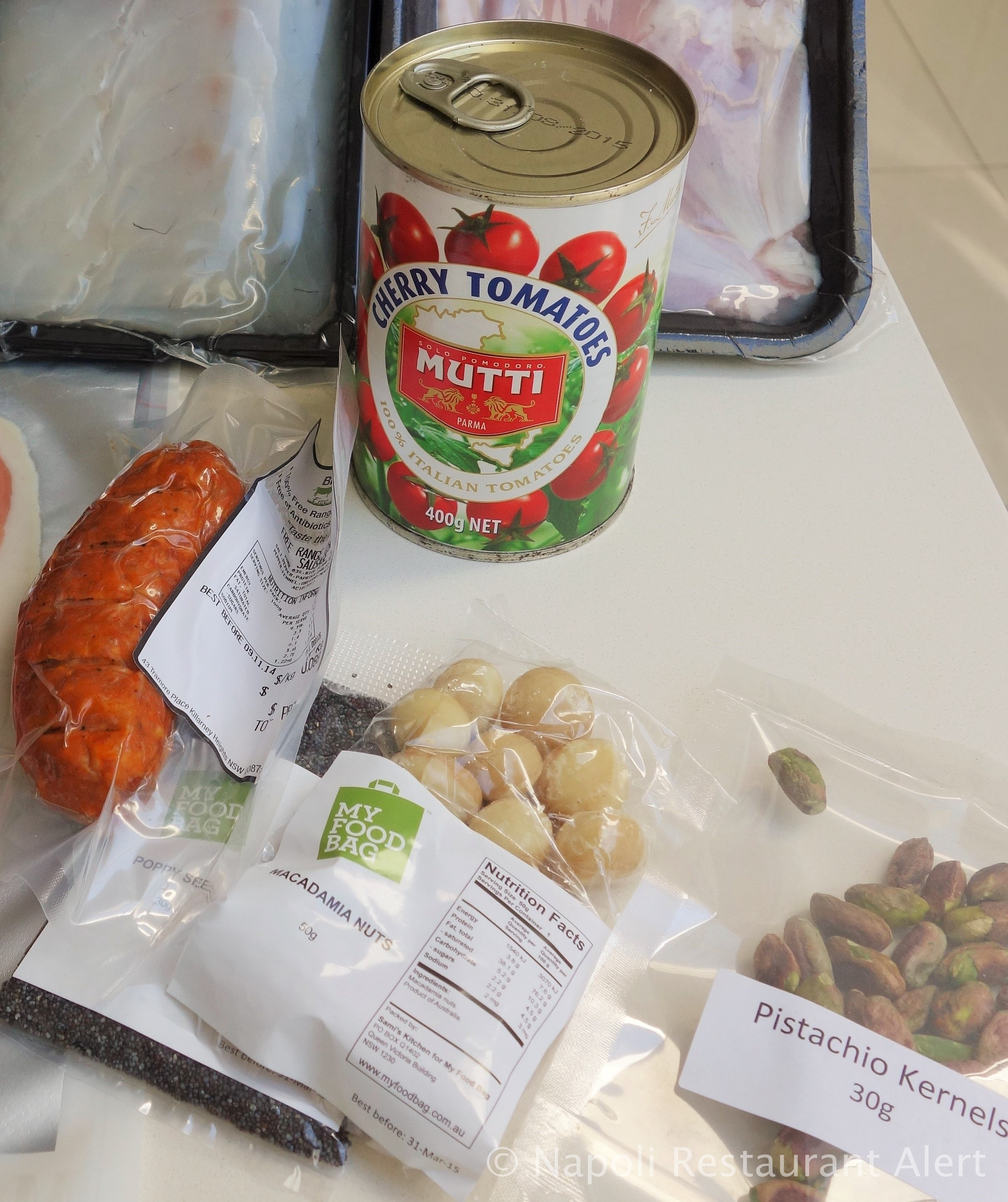 Product review my food bag the napoli alert your first delivery will also come with a little folder where you can store your recipe cards it is all too easy the seasonally based recipes are forumfinder Images